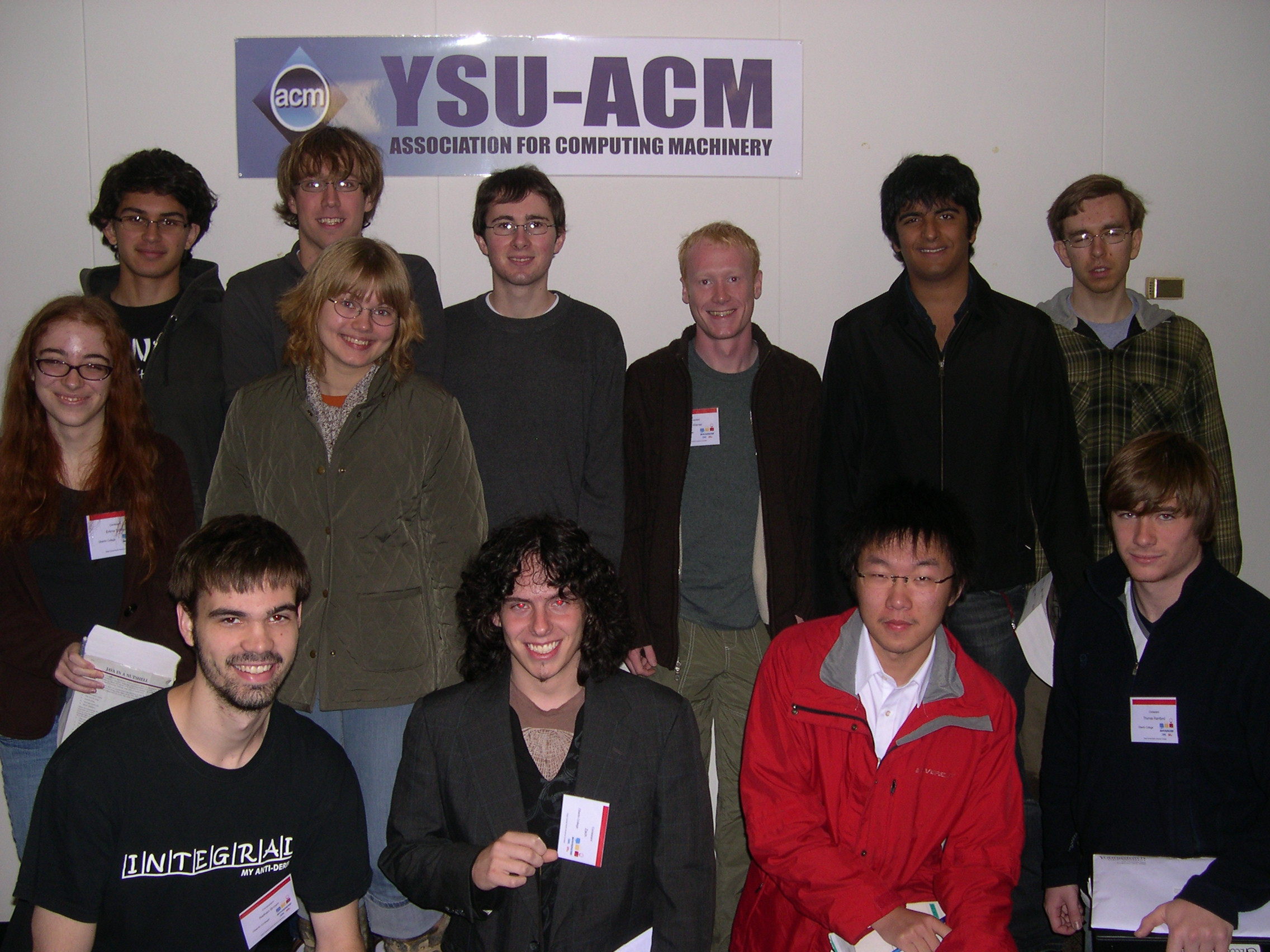 2009 Oberlin ACM contest teams