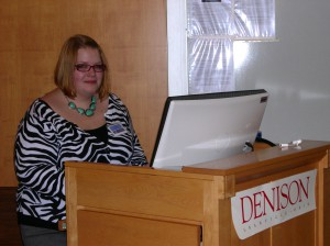 Claire Nelson at MCURCSM 2011